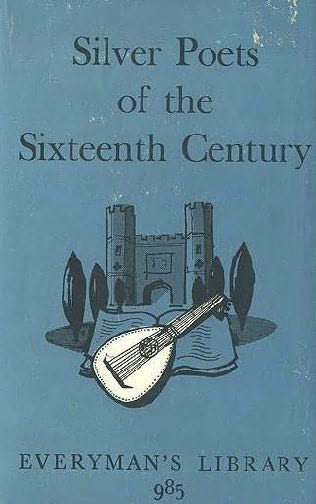 book cover of Silver Poets of the Sixteenth Century
