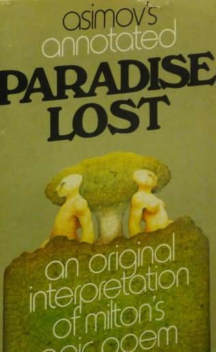 book cover of Asimov\'s annotated Paradise lost