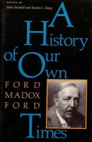 book cover of The History of Our Own Times