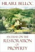 book cover of The Restoration Of Property