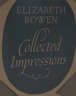 book cover of Collected Impressions