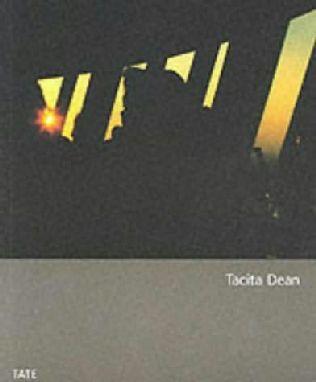 book cover of Tacita Dean