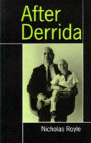 book cover of After Derrida