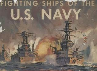 book cover of Fighting Ships of the U. S. Navy
