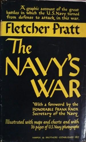 book cover of The Navy\'s War