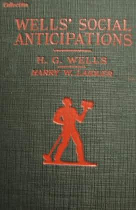 book cover of Wells\' Social Anticipations