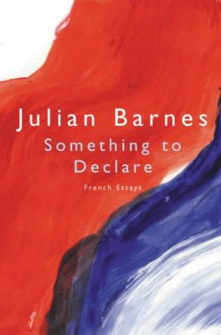 book cover of Something to Declare