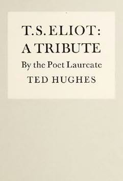 book cover of T. S. Eliot: A Tribute
