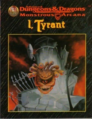 book cover of Monstrous Arcana: I, Tyrant