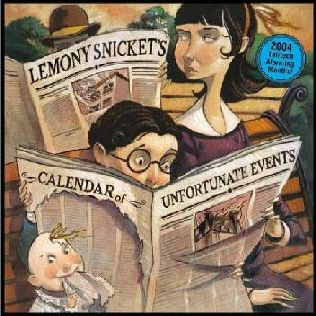 book cover of Series of Unfortunate Events Calendar 2004