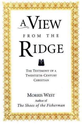 book cover of A View from the Ridge
