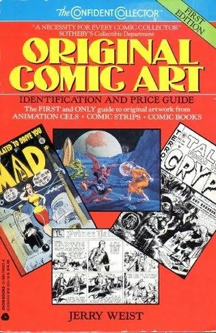 book cover of Original Comic Art