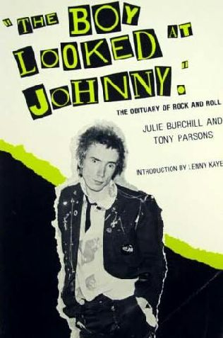 book cover of The Boy Looked at Johnny