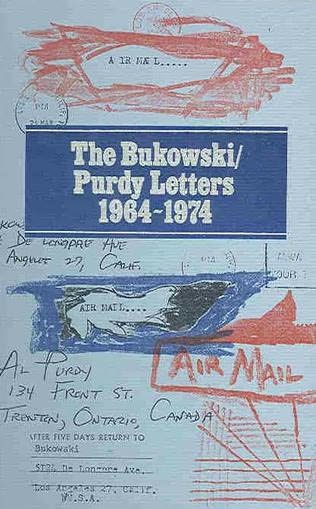 book cover of The Bukowski / Purdy Letters
