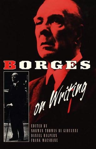book cover of Borges on Writing