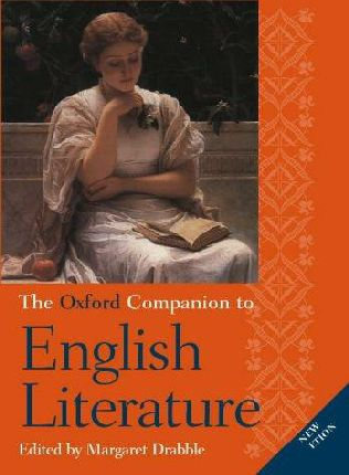 book cover of The Oxford Companion to English Literature
