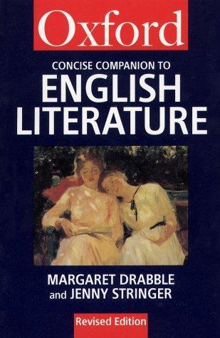 the oxford companion to english literature margaret drabble pdf