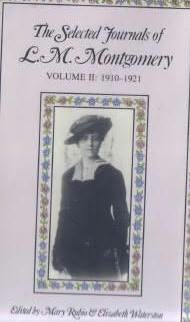 book cover of The Selected Journals of L.M. Montgomery Volume 2