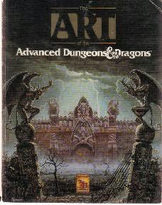 book cover of Art of the Advanced Dungeons and Dragons Fantasy Game