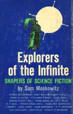 book cover of Explorers of the Infinite