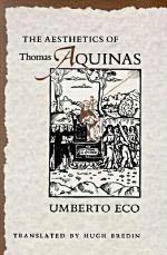 book cover of The Aesthetics of Thomas Aquinas
