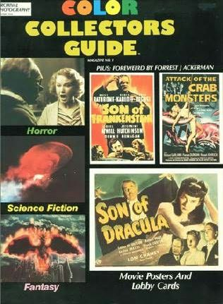 book cover of Horror, Science Fiction, Fantasy Movie Posters and Lobby Cards
