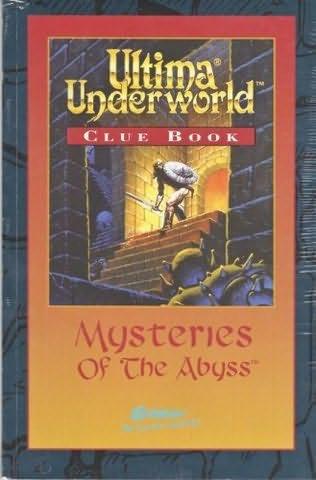 book cover of Ultima Underworld Clue Book