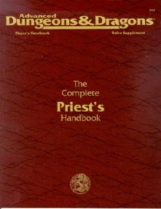 book cover of The Complete Priest\'s Handbook