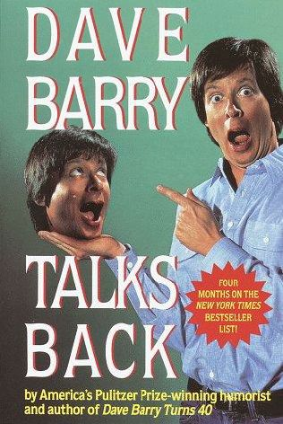 book cover of Dave Barry Talks Back