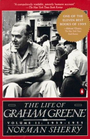 book cover of The Life of Graham Greene: 1939-1955
