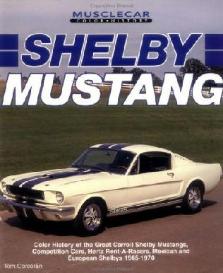 book cover of Shelby Mustang