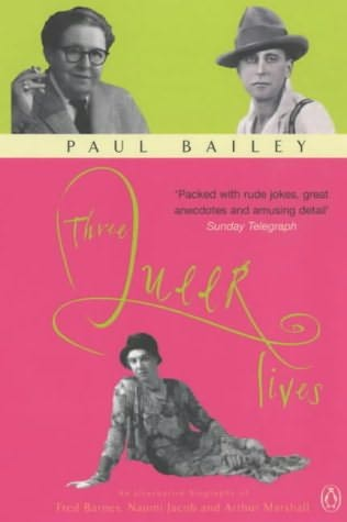 book cover of Three Queer Lives