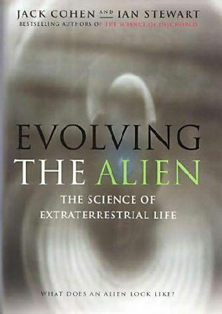 book cover of Evolving the Alien