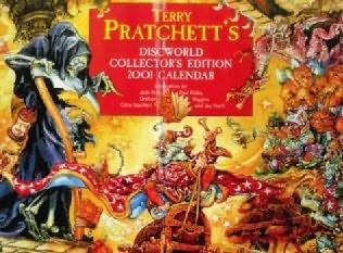 book cover of The Discworld Calendar: 2001