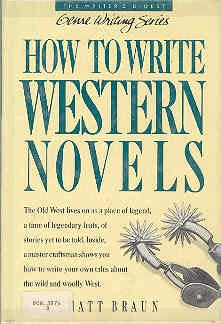 book cover of How to Write Western Novels
