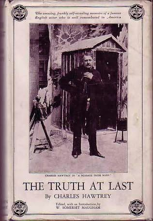book cover of The Truth at Last