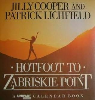 book cover of Hotfoot to Zabriskie Point