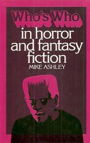 book cover of Who\'s Who in Horror and Fantasy Fiction