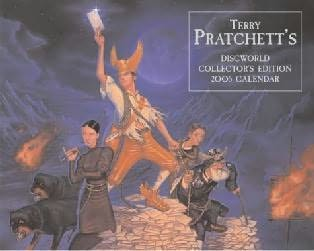 book cover of Discworld Calendar 2005