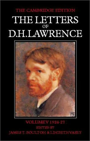 book cover of The Letters of D.H.Lawrence: March 1924-March 1927 Vol 5