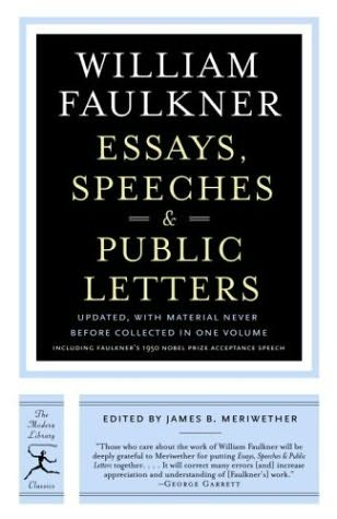 faulkner essays William faulkner essays: over 180,000 william faulkner essays, william faulkner term papers, william faulkner research paper, book reports 184 990 essays, term and.