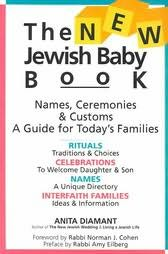 book cover of The Jewish Baby Book