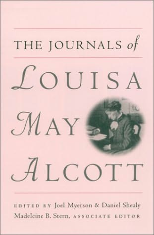 book cover of The Journals of Louisa M.Alcott
