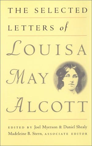 book cover of The Selected Letters of Louisa May Alcott