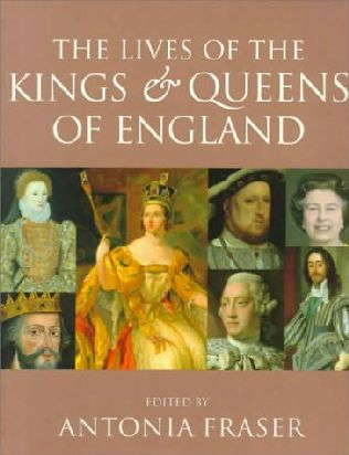book cover of The Lives of the Kings and Queens of England