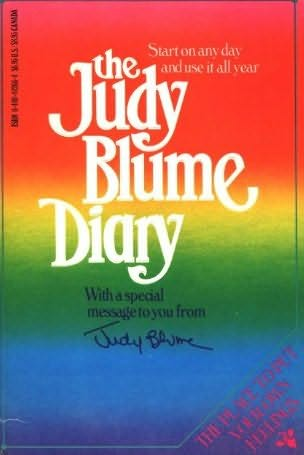 book cover of The Judy Blume Diary