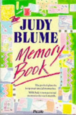 book cover of The Judy Blume Memory Book