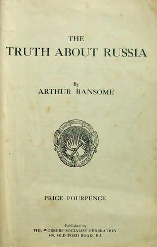 book cover of The Truth About Russia