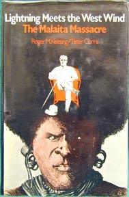 book cover of Lightning Meets the West Wind