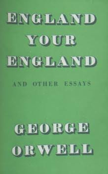 book cover of England, your England, and other essays